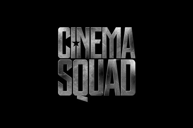 Cinema Squad - Justice League LOGO BLACK BCK